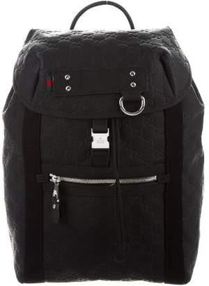 Gucci Rubber Guccissima Backpack