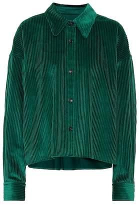 Isabel Marant Hanao corduroy blouse
