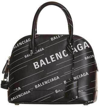 Balenciaga Ville Top Handle S Allover