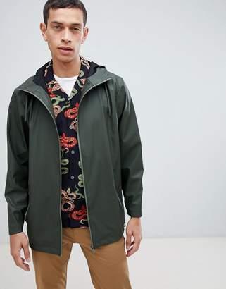 Rains 1265 breaker jacket in green