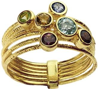 ADI Paz Multi-Gemstone 0.75 cttw Ring, 14K Gold