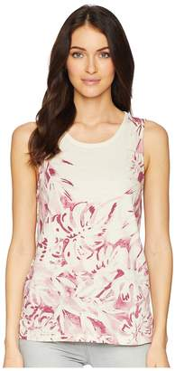 Lucky Brand Printed Floral Tank Top Women's Sleeveless