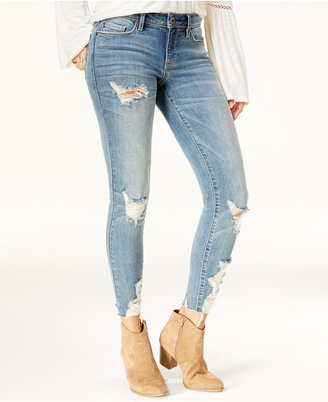 American Rag Juniors' Ripped Skinny Jeans, Created for Macy's $59.50 thestylecure.com