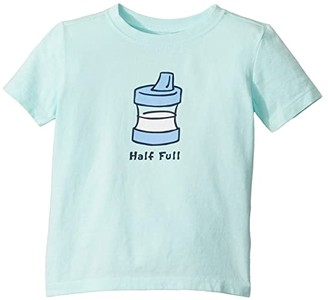 Life is Good Half Full Crusher Knit Tee (Toddler)