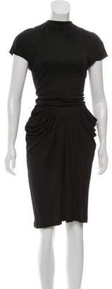 Michael Kors Draped Midi Dress