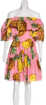 Dolce & Gabbana 2017 Pineapple Dress