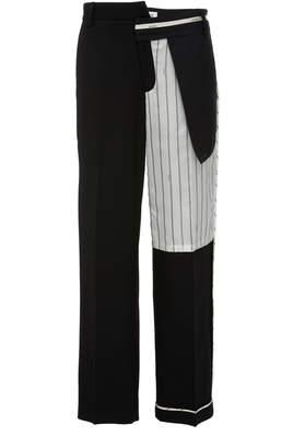 Monse Inside Out Pinstripe Pocket Pants