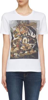 Alexander McQueen 'Still Life Shells' graphic print T-shirt