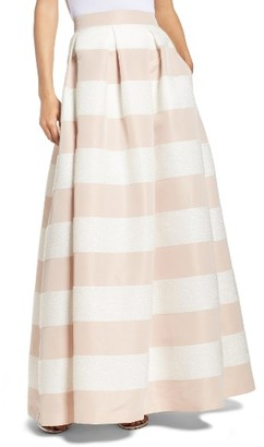 Women's Eliza J Stripe Ball Skirt $208 thestylecure.com