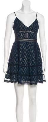 NBD Printed A-Line Dress