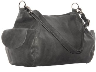 Piel Leather TOP-ZIP SHOULDER BAG/CROSS BODY HOBO