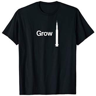 Grow Up Rocket White Relaxed TShirt