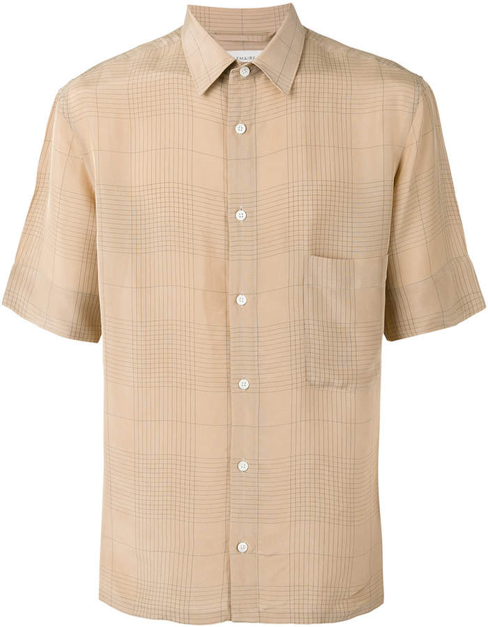 Lemaire checked shirt