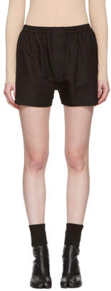 Maison Margiela Black Boxer Shorts
