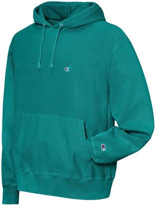 Champion Men's Garment-Dyed Reverse Weave Hoodie