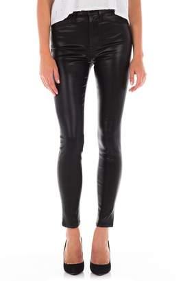 Fidelity Luna Coated High Waist Skinny Ankle Jeans