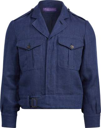 Ralph Lauren Linen Herringbone Jacket