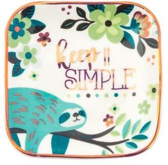 Karma Small Trinket Tray, Sloth