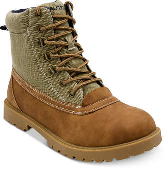 Nautica Men's Alameda Lace-Up Boots Men's Shoes