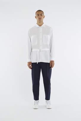 3.1 Phillip Lim Oversized Belted Painter's Shirt