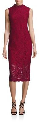 Shoshanna Solid Sleeveless Sheath Dress $360 thestylecure.com