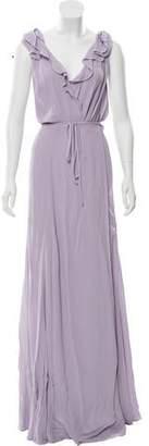 Reformation Sleeveless Maxi Dress