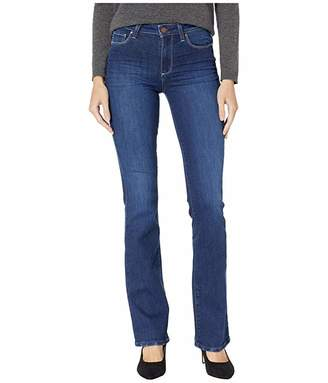 Paige High-Rise Manhattan Boot Jeans in Pompeii