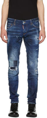 DSQUARED2 Blue Toppa Slim Jeans