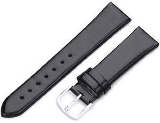 Hadley-Roma Women's LSL730RA 180 18-mm Patent Leather Watch Strap