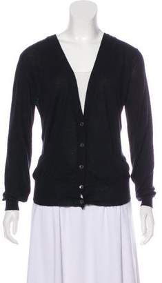 Marni Cashmere Button-Up Cardigan