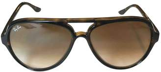 Ray-Ban Brown Plastic Sunglasses