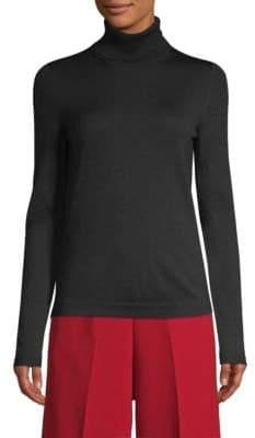 BOSS Wool Turtleneck Pullover