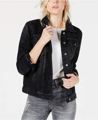 STS Blue Oversized Boyfriend Cotton Denim Trucker Jacket