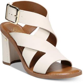 Franco Sarto Cymbal Strappy Block-Heel Dress Sandals Women's Shoes