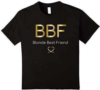Blonde Brunette Best Friend T Shirts - Matching BFF Outfits