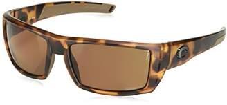 Costa del Mar Rafael Polarized Iridium Rectangular Sunglasses