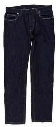 Lanvin Five-Pocket Slim Jeans