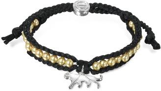 Sho London Jaguar Friendship Silk Bracelet