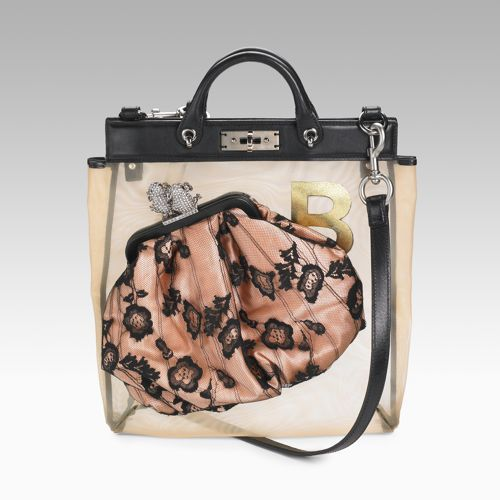 Marc Jacobs Mesh Lace Robert Bag On Bags