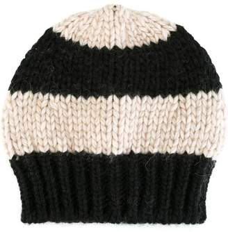 Danielapi striped knit beanie