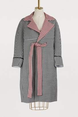 Jour/Né Gingham coat