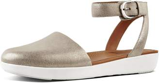 FitFlop Cova Metallic Leather Sandals