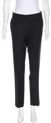 Christian Dior Mid-Rise Virgin Wool Pants