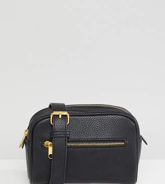 Reclaimed Vintage inspired belt bag in black