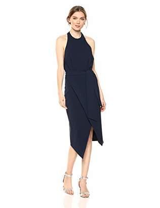 Finders Keepers findersKEEPERS Women's Essie Sleeveless Halter Stretch Midi Sheath Dress,S