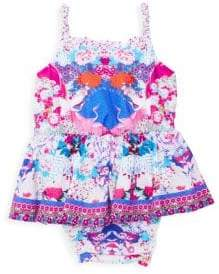 Camilla Baby Girl's Floral Bubble Dress