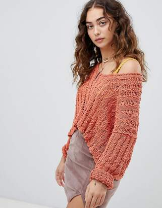 Free People Beach Comber jumper