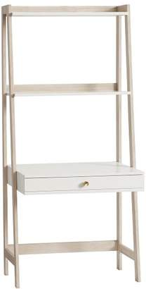 Pottery Barn Teen Highland Wall Desk, Simply White/Weathered White
