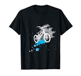 bicycle splash cycle halfpipe stunt T-shirt