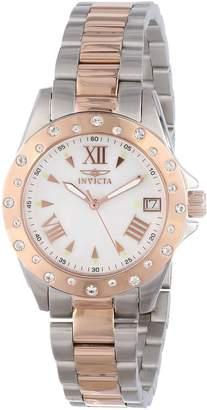 Invicta Women's 12856 Angel Analog Display Swiss Quartz Two Tone Watch